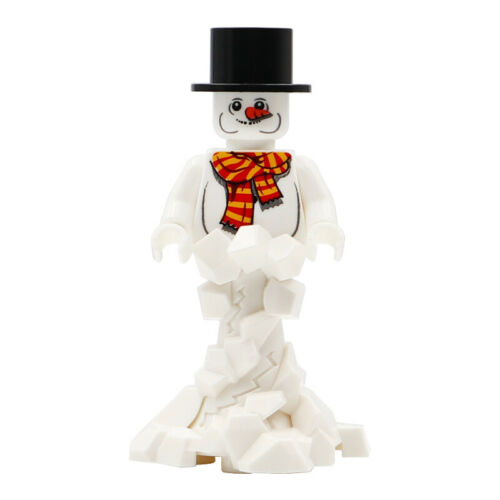 Snowman Christmas Series Lego Moc Minifigure Gift For Kids