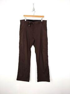 Prana-Pants-Adult-XL-32-Inseam-Brown-Nylon-Hiking-Climbing-Camping-Outdoors
