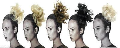 Hair Piece Scrunchie Ponytail Wrap Extensions Instant Updo Bobble Pony