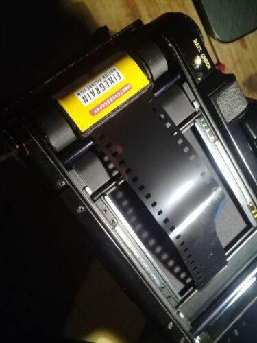 Use 35mm film in medium format camera