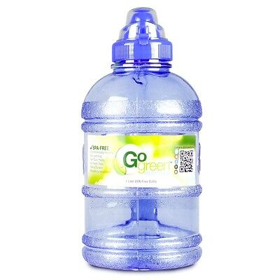 1 2 Gallon 64 Oz Sports Cap Bottle With Handle Drinking Water Jug Bpa Free Usa Ebay