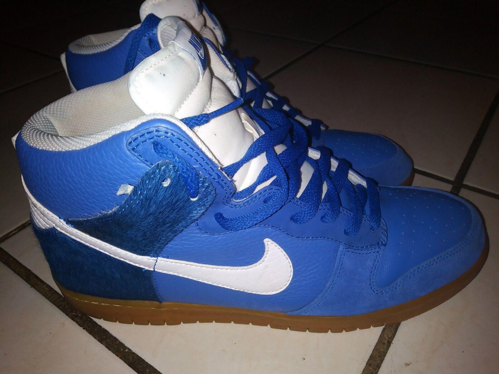 Nike Zoom Dunk Premium Horsehair Gum 317892-412 Men's Basketball shoes Size 12