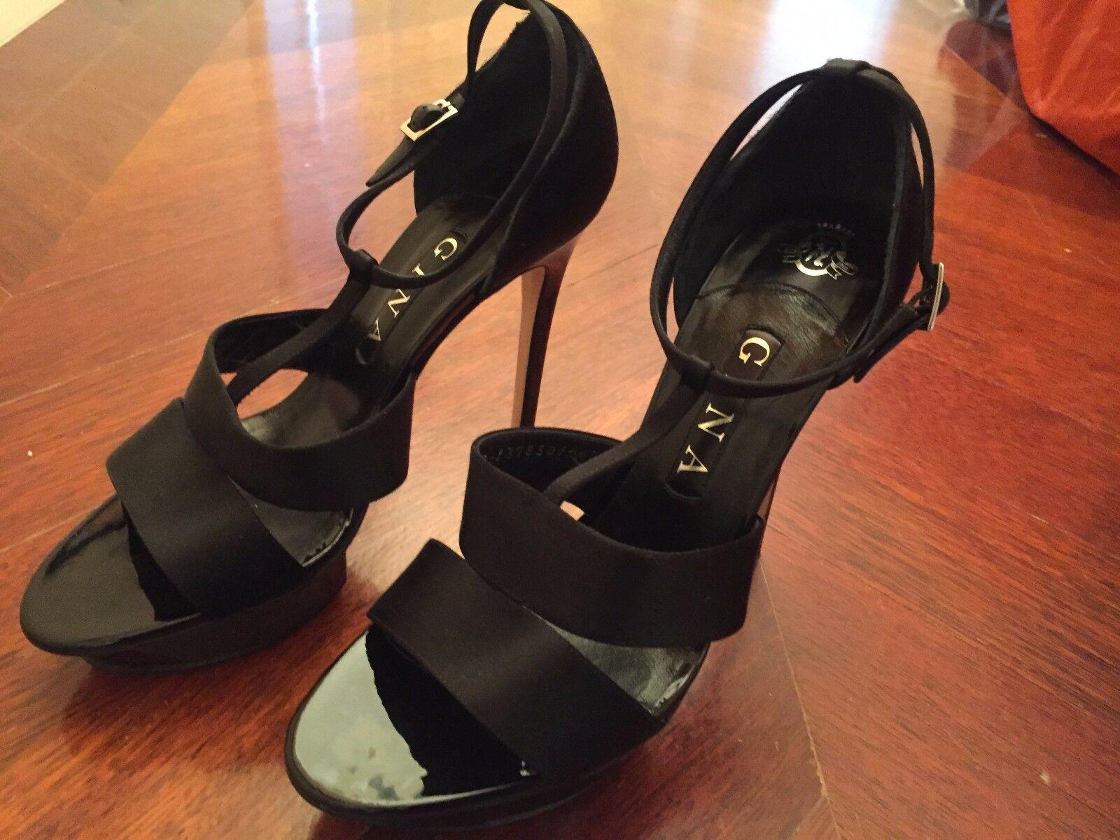 Auténtico noche Talla Gina Mujer Zapatos Uk Talla noche 6,5 791834