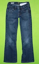 7 For All Mankind Bootcut sz 24 Short Womens Blue Jeans Denim Pants Stretch EL11