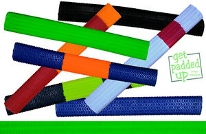 Many Choices Single Colour getpaddedup Players Matrix Cricket Bat Grips