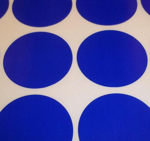 1 POLLICE codice colore Dots ROUND ADESIVI appiccicoso etichette ID 500 blu scuro 25mm