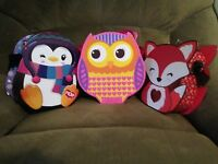 Markwins Beauty Owl Fox Penguin Case Real Fun Cosmetics Makeup For Girls Kids