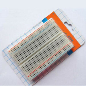 Mini Bread Board Solderless Protoboard DIY PCB Test Board 400 Contacts Available