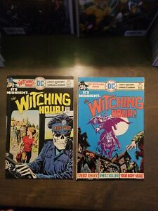 THE-WITCHING-HOUR-2-Book-lot-57-58-VF-DC-COMICS