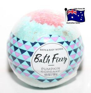 BATH-amp-BODY-WORKS-Pumpkin-Cupcake-BATH-BOMB-FIZZ-MADE-WITH-SHEA-130GRAM