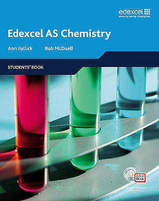 1 of 1 - Edexcel A Level Science: Students Book with ActiveBook: AS Chemistry-ExLibrary