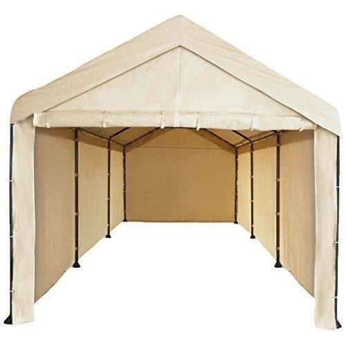 10x20 Garage Tent Carport Car Shelter Big Portable Cover ...