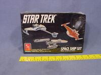 Amt Ertl Star Trek Space Ship Set Model Kit Toys