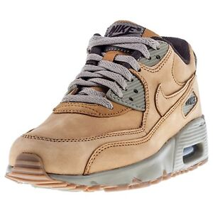 separation shoes 2205b 80fbb Image is loading Nike-Air-Max-90-Winter-Premium-Bronze-Bronze-