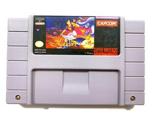 Aladdin-SNES-Super-Nintendo-Game-Authentic-Tested-amp-Working