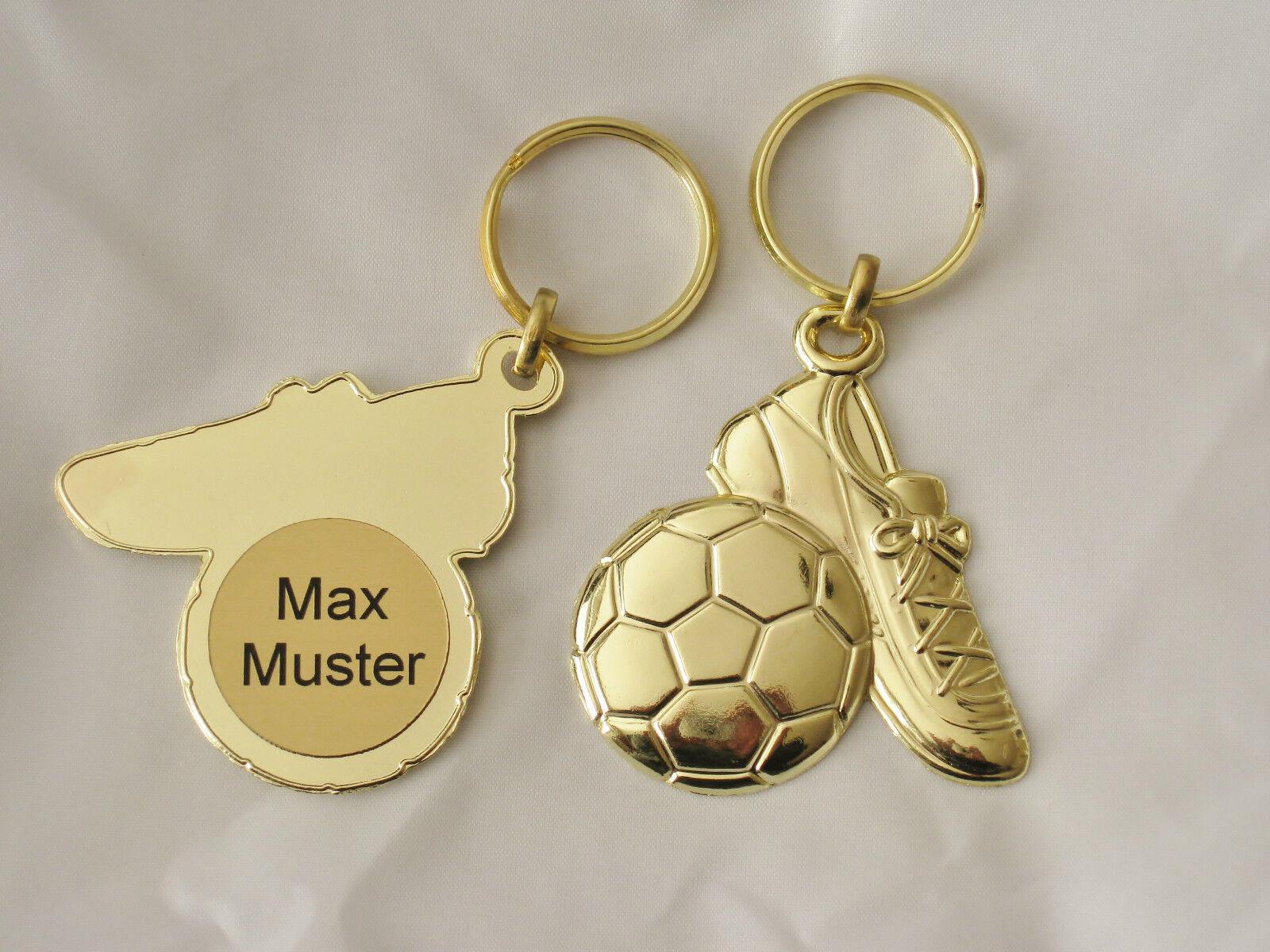 Schlüsselanhänger Fussball   Mengenrabatt   Mengenrabatt  ++inkl. Gravur++ c902e8