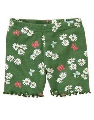 GYMBOREE UNICORN GARDEN PINK w// FLOWERS N ANIMALS LEGGINGS 3 6 12 18 24 2 3 4 5T
