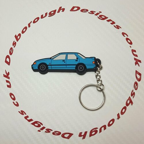 Ford Sierra Sapphire Cosworth Key Ring Blue