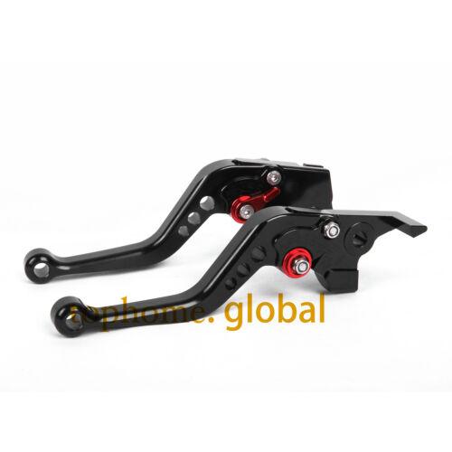 For Suzuki DL1000 V-STROM 2002-2018 TL1000R Short Clutch Brake Levers US BK