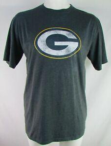 Green-Bay-Packers-NFL-Fanatics-Men-039-s-Big-and-Tall-Grey-Long-Sleeve-Shirt