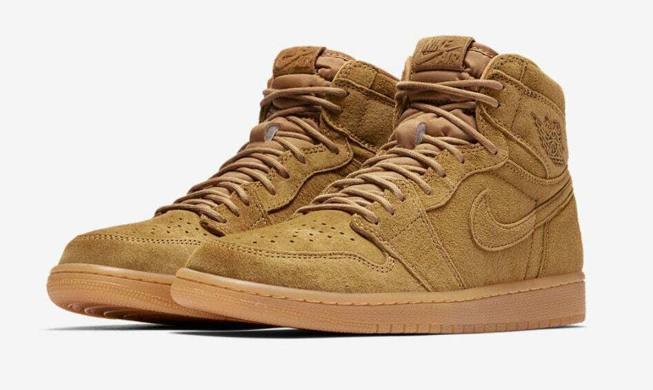 Nike Air Jordan 1 Retro High OG Wheat Size 10-11 golden Harvest gold 555088-710