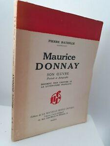 Guante-Piedra-Bathille-Maurice-Donnay-Son-Maestra-Pin-1932-Retrato