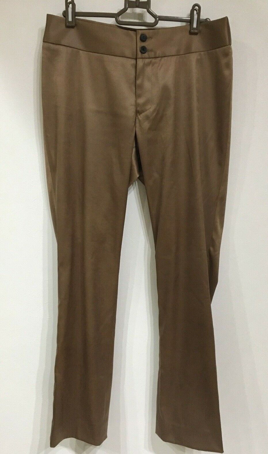Issey Miyake Pants gold Brown Size 3 Free Shipping From Japan Excellent