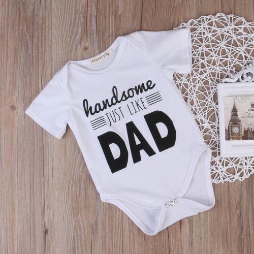 Nouveau-né Kids Baby Boy Toddler Tenues Combinaison Ange Body Vêtements Gentleman