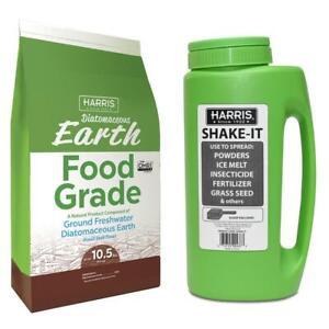 10-5-lbs-Diatomaceous-Earth-Food-Grade-100-amp-Shaker-Applicator-Value-Pack