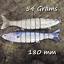 Salt-water-Realscale-trolling-lures-sea-fishing-tuna-bass-herring-mackerel-bait thumbnail 14