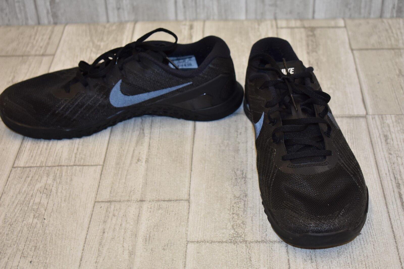 Nike metcon 3 trainingsschuhe - männer - größe 10 - schwarz