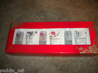 Crabtree & Evelyn Set Of 6 Travel Size Shower Gels And Lotions In 3 Scents