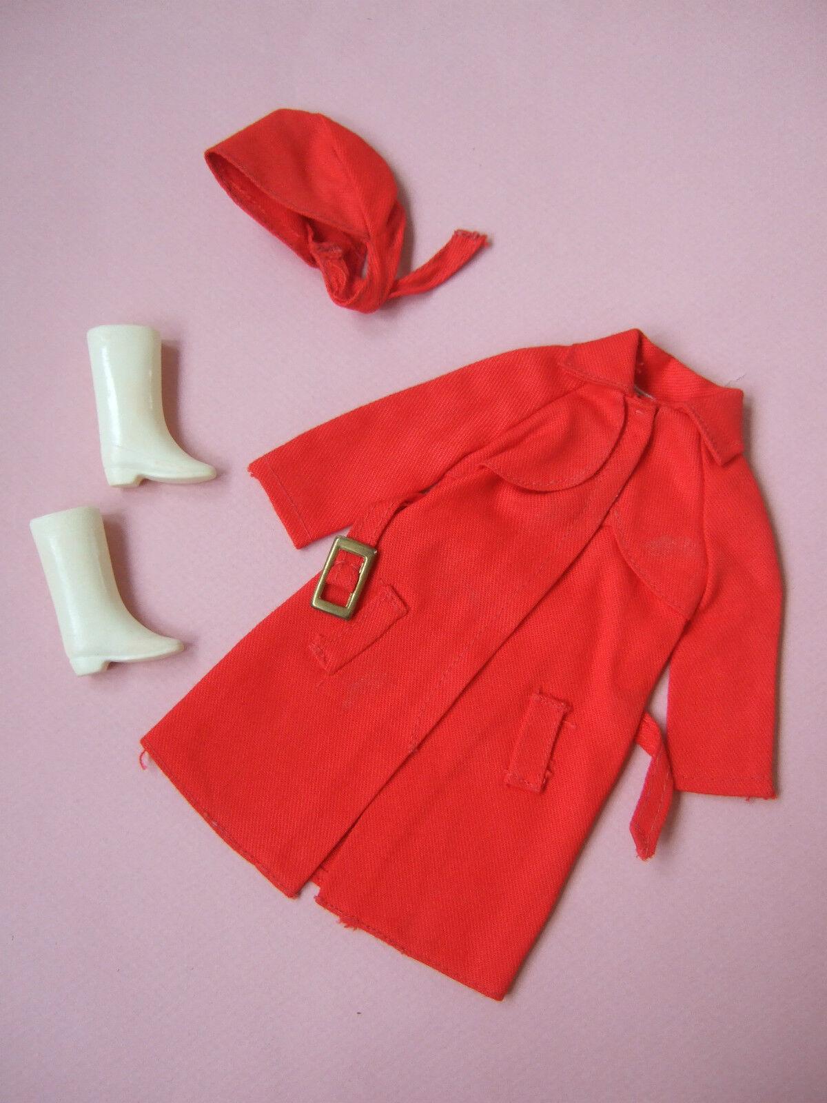 HTF rot for rain rain rain 1971  3409  Mod doll clothes outfit set Vintage Barbie 8d5b11