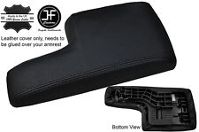 BLACK STITCHING ARMREST LID LEATHER COVER FITS MERCEDES A CLASS W169 2004-2012