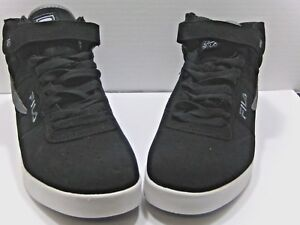 69efae8631ed Mens FILA VULC 13 MP Mid Plus Black Retro Shoes Sneakers