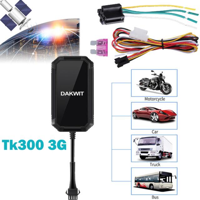 Mini TK300 GPS Car Vehicle Locator Tracker Anti-Lost 3G GSM//SMS Tracking Device