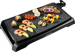 Andrew James Electric Teppanyaki Grill Table Top Bbq