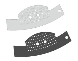 2-x-Schutzfolie-fuer-Jura-C-Line-Abtropfblech-Tassenablage-C5-C50-C55-C60-C65