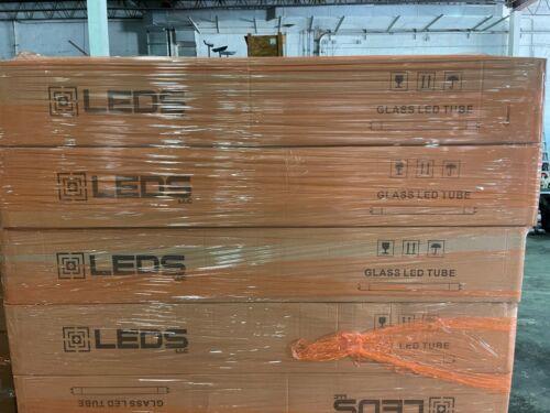 25 ETI 15W High Output T8 4/' LED Glass 4000k Light Bulbs Case of 25 $69