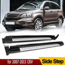 For 2007 2011 Honda Crv Cr V Aluminium Running Boards Nerf Bars Side Steps Black
