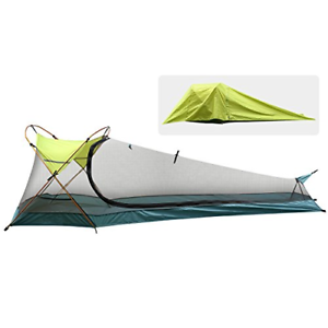 Rhino Valley Camping Tent, Waterproof Portable Lightweight Single Person Outdoor