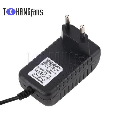 EU//US Plug AC 100-240V to DC 12V 9V 5V 1A 2A Power Supply Converter Adapter ATF