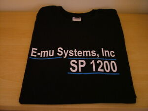 RETRO-SYNTH-DRUM-MACHINE-SAMPLER-T-SHIRT-EMU-SP-1200-S-M-L-XL-XXL