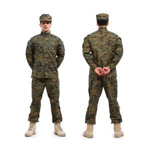 New-BDU-Painball-Military-Camo-Camouflage-Suit-Airsoft-Uniform-Sets-Jacket-Pant