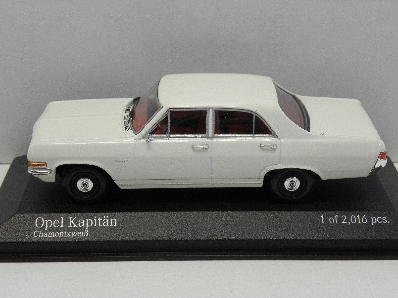 MINICHAMPS 400048000 Sammelmodell Opel Kapitän 1964 M.1 43 43 43 7b565c