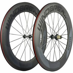WINDBREAK-Road-Bike-Wheels-Clincher-R13-88mm-Bicycle-Carbon-Wheelset-3k-Matte