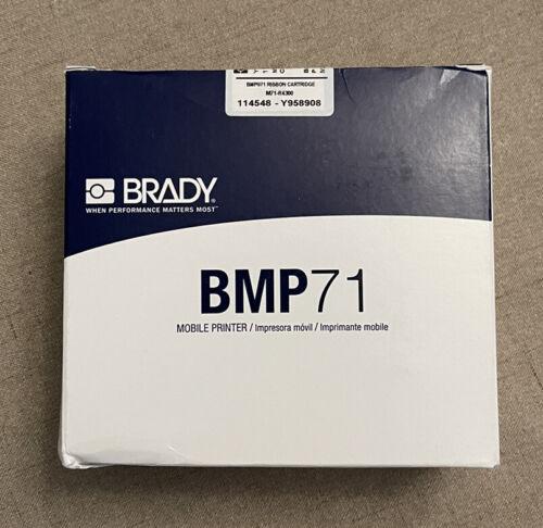 Brady M71-R4300 Black Print Ribbon BMP71  2 in W 150 ft L