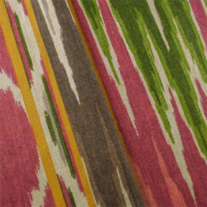 fabric kaufmann ikat decorating multi print yard fabrics decor