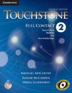 TOUCHSTONE-LEVEL-2-FULL-CONTACT-2ND-EDITION-by-McCarthyMichael-2014-Paperback
