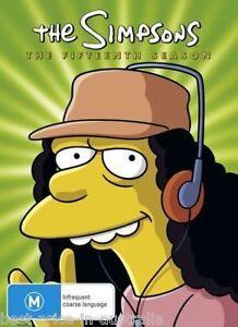 The-SIMPSONS-The-COMPLETE-Season-15-DVD-TV-SERIES-BRAND-NEW-4-DISCS-BOX-SET-R4